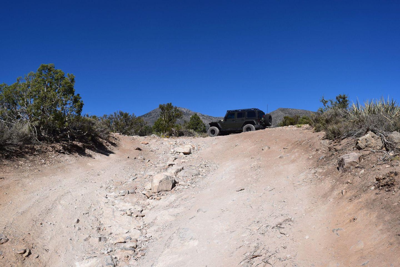 Wheeler Pass - Waypoint 9: Merge of trails