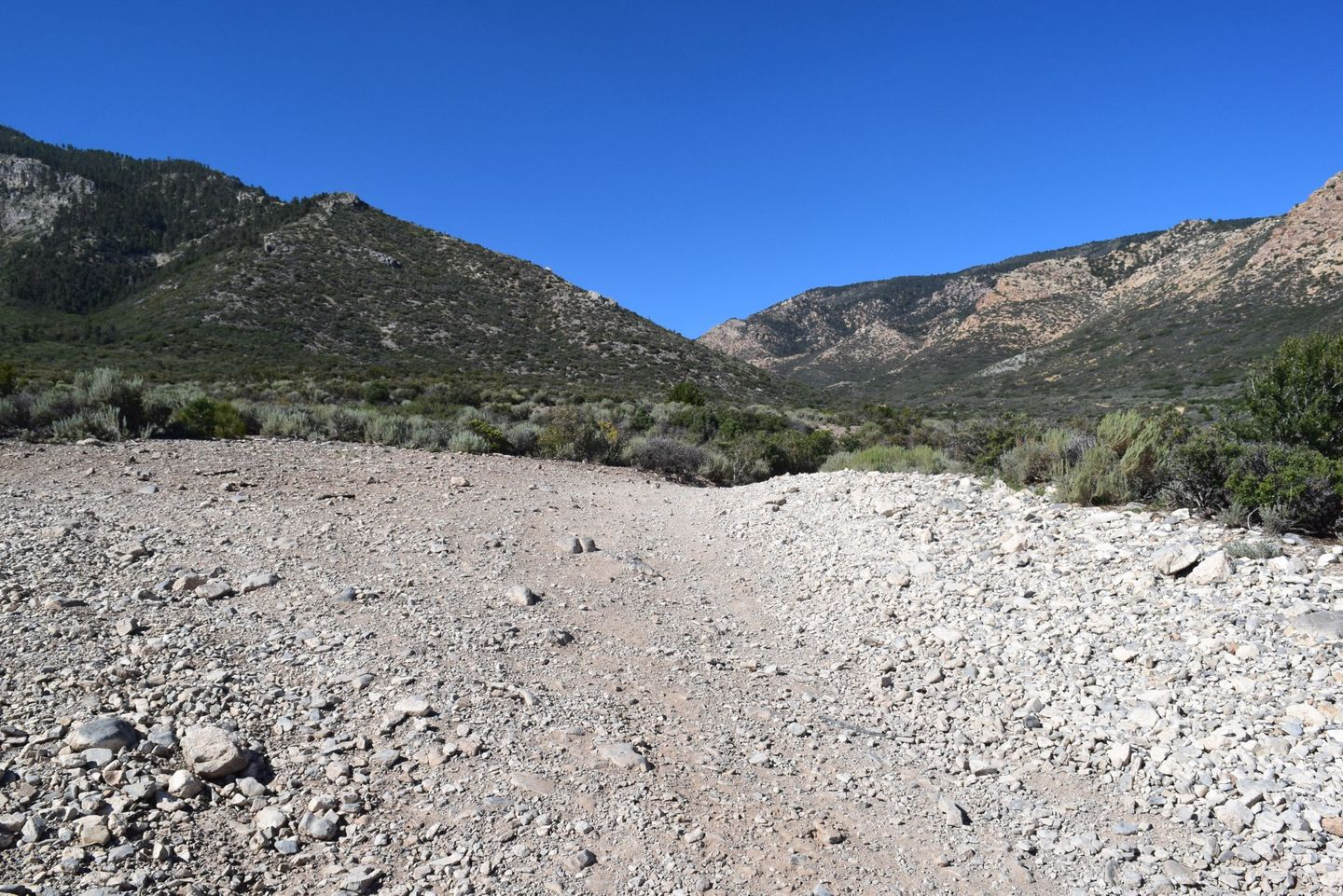 Wheeler Pass - Waypoint 11: Y intersection