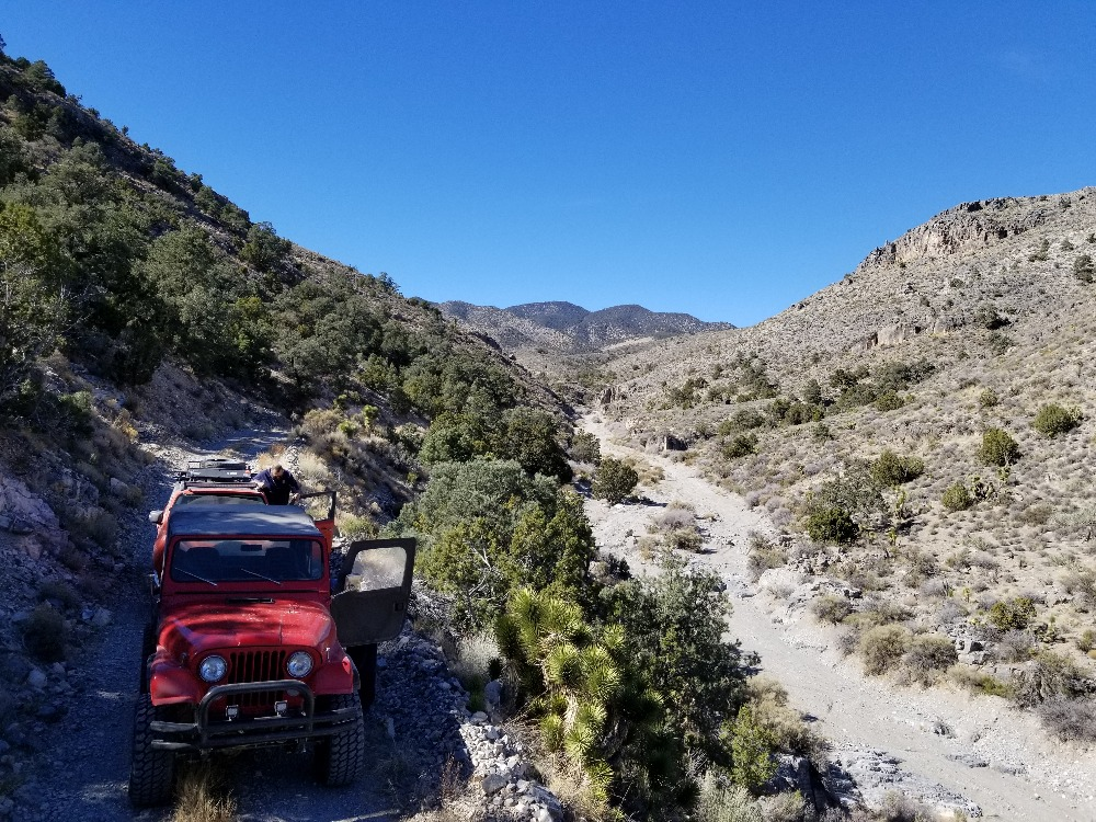 Trail Review: Mormon Well Road