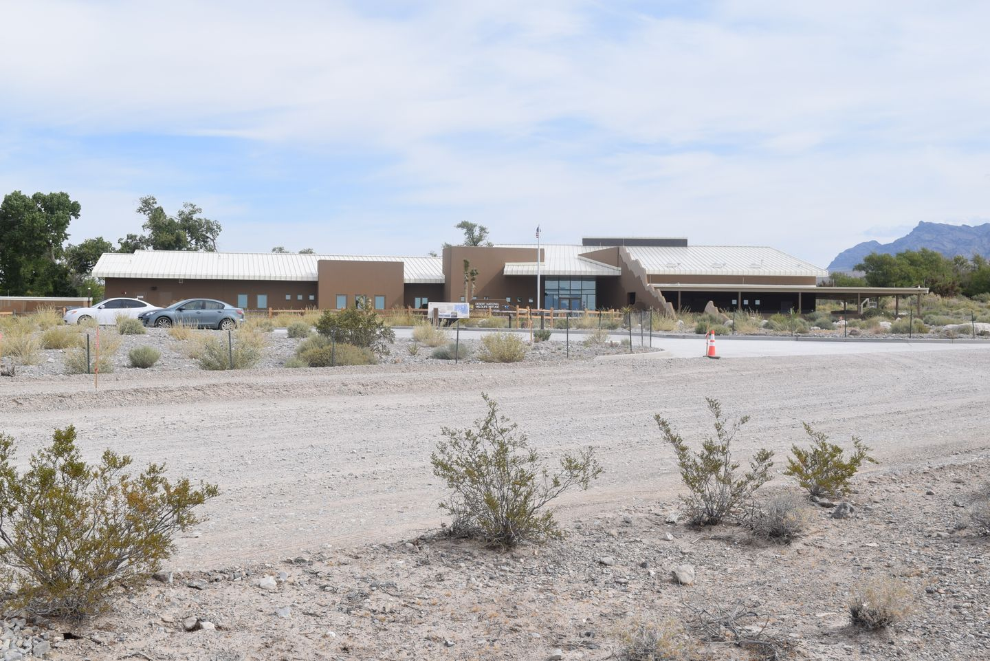 Alamo Road - Waypoint 1: Desert National Wildlife Refuge Visitor Center