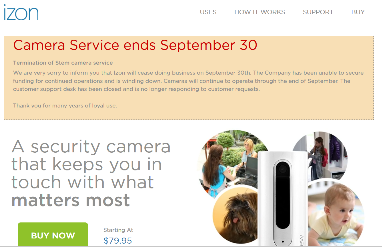 Article about cheap security camera is not a good idea.
