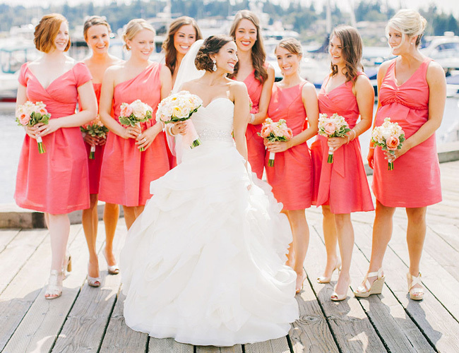 Living Coral Wedding Ideas How To Use Living Coral In Your Wedding