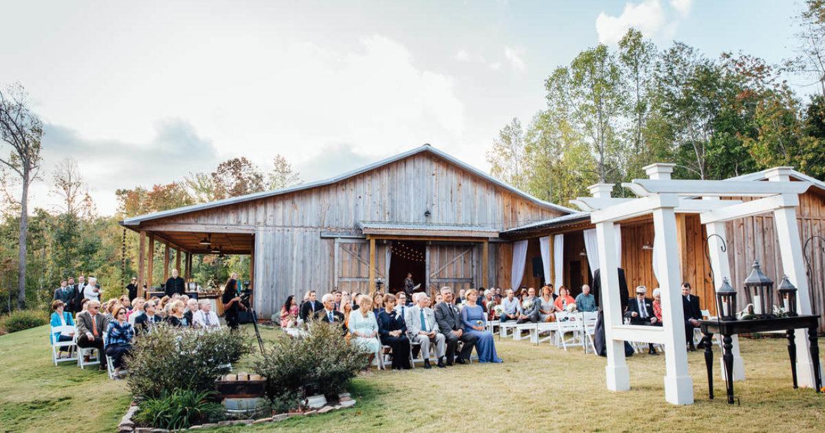 17 Beautiful Georgia Farm Wedding Venues See Prices