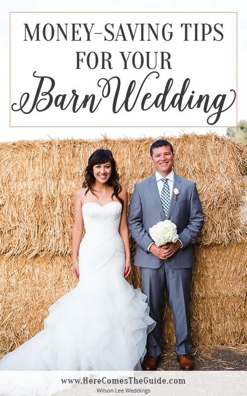 Hay Bale Budget Money Saving Tips For Your Rustic Barn Wedding