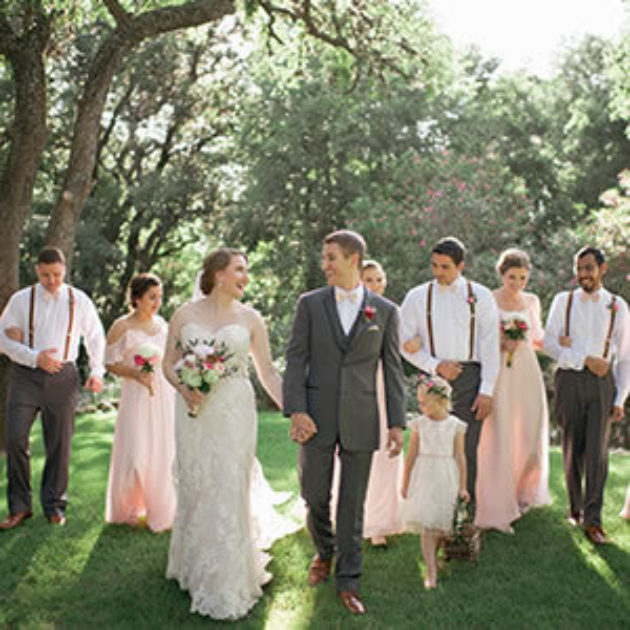 Rustic + Woodsy Texas Old Town Wedding