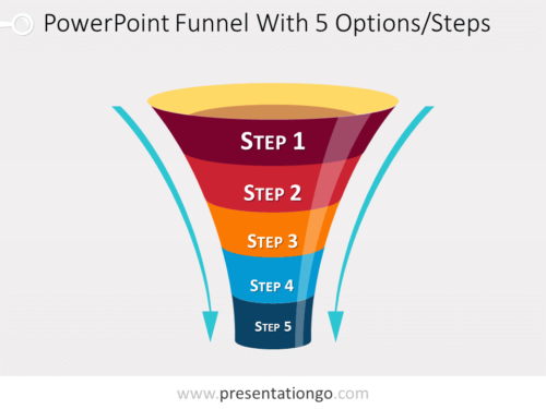 Free editable funnel diagram for PowerPoint
