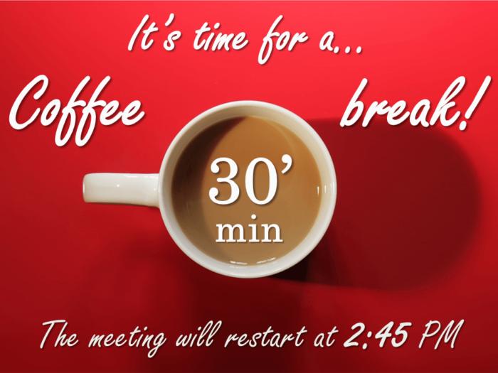 Free Coffee Break PowerPoint Template