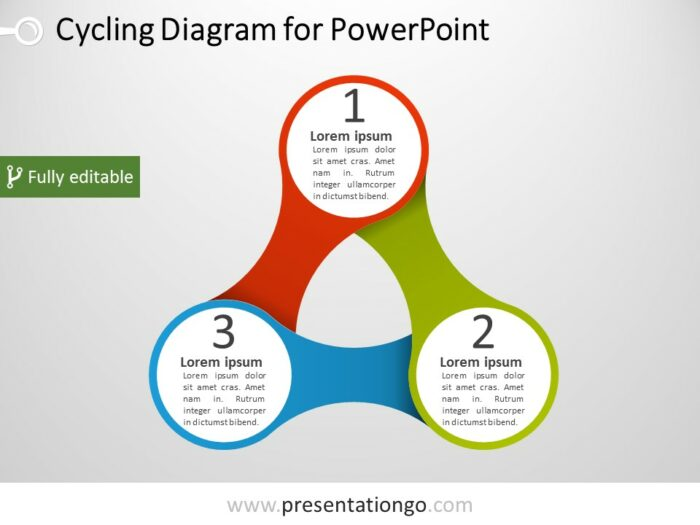 Free Triangular PowerPoint Diagram