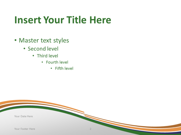 Free PowerPoint template with flag of India background. Title and Content slide.