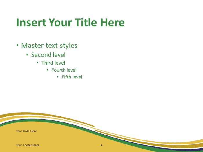 Free PowerPoint template with flag of the Brazil background. Title and Content slide.