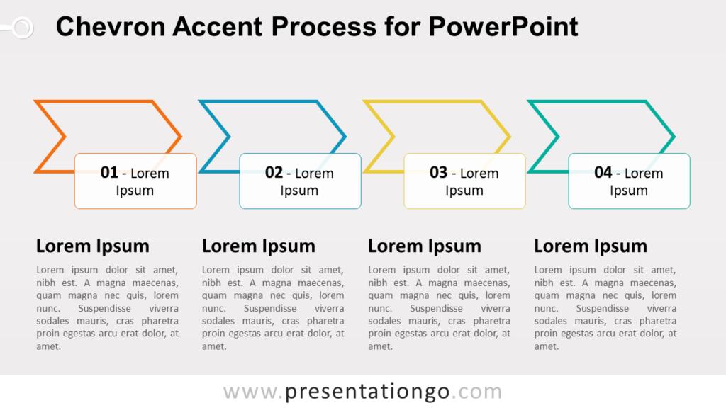 Chevron Process SmartArt PowerPoint Diagram
