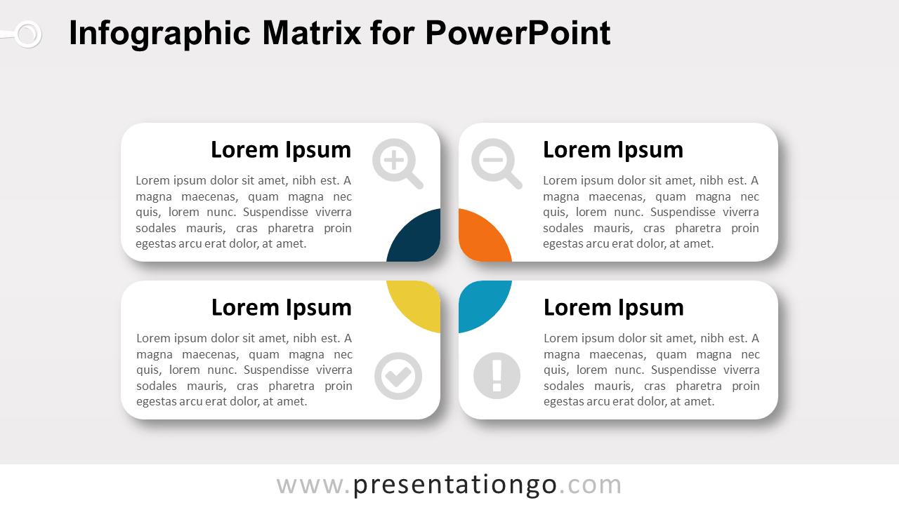 Matrix Diagram for PowerPoint