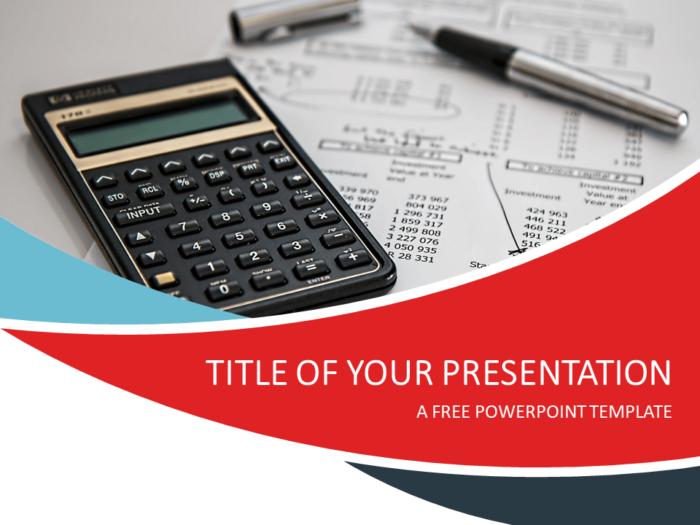 Free Finance PowerPoint Template