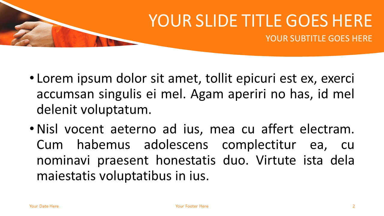 Prayer Free PowerPoint Template - Slide 2
