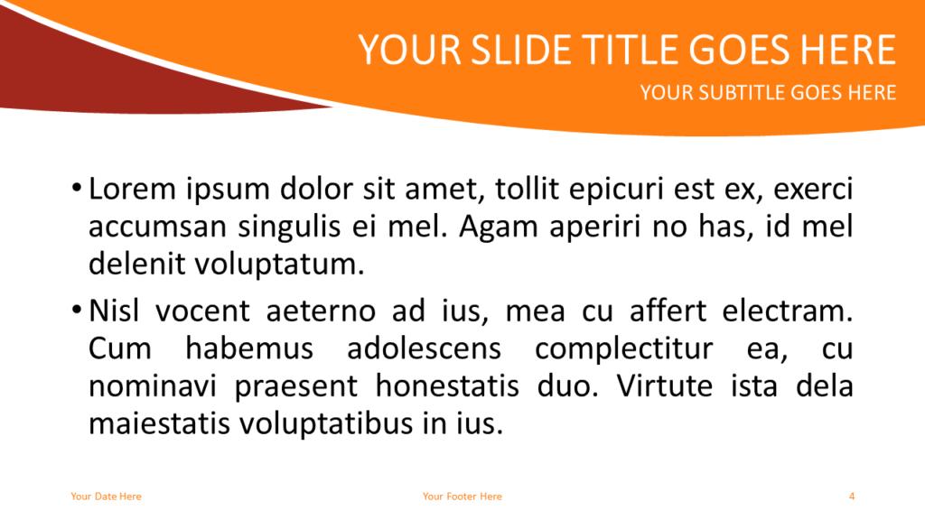 Prayer Free PowerPoint Template - Slide 4