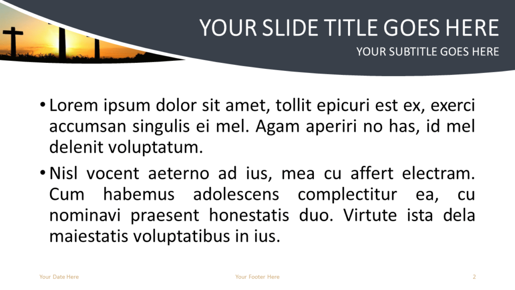 Religion Free PowerPoint Template - Slide 2