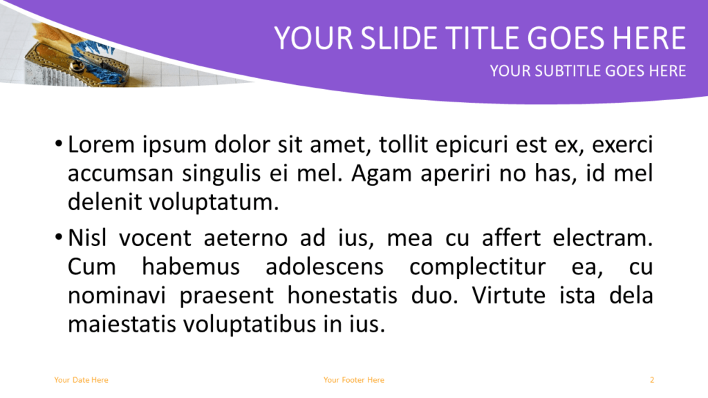 School Free PowerPoint Template - Slide 2