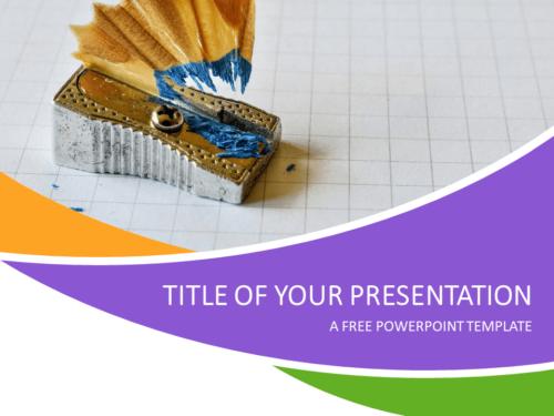 Free School PowerPoint Template