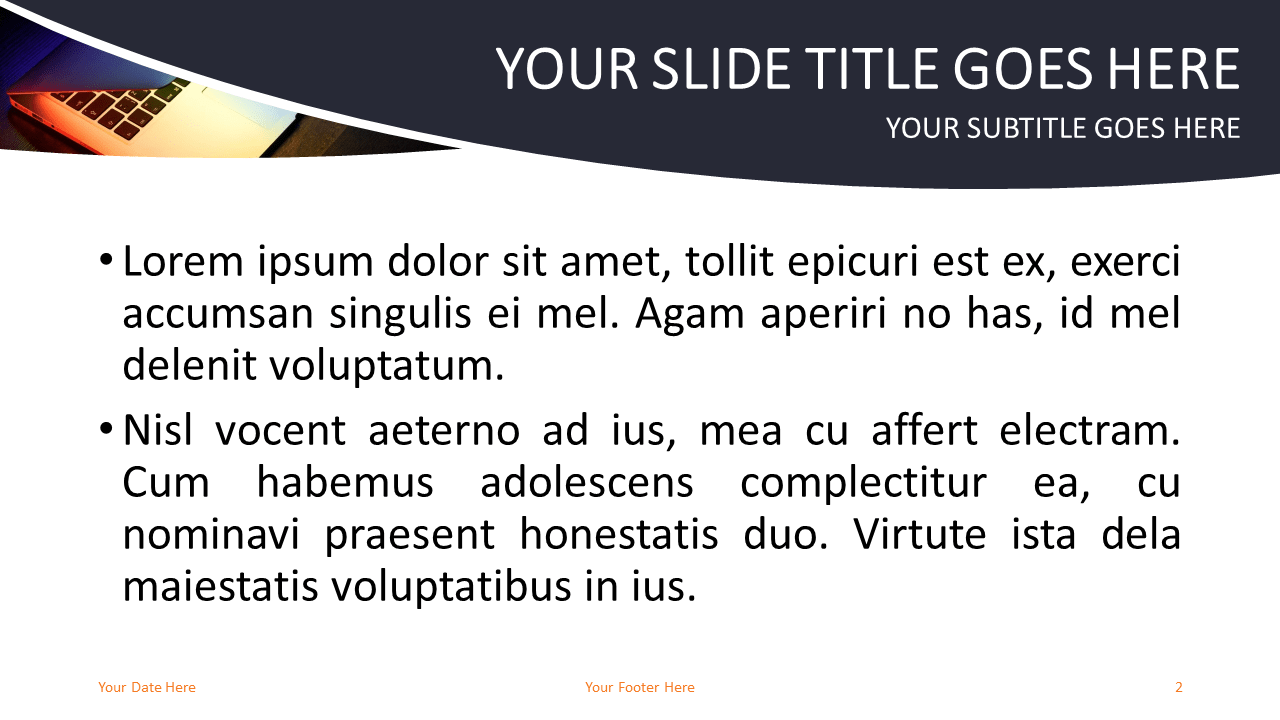 Technology and Computers - Free PowerPoint Template - Slide 2