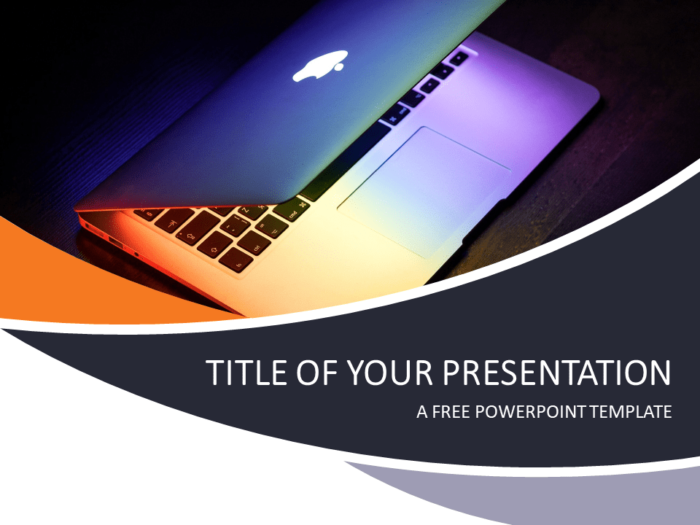 Free Technology and Computers PowerPoint Template