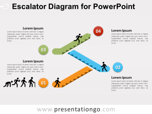 Free Escalator Graphics for PowerPoint