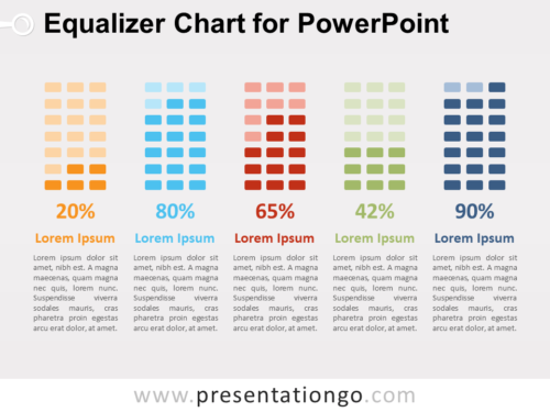Free Equalizer Chart for PowerPoint