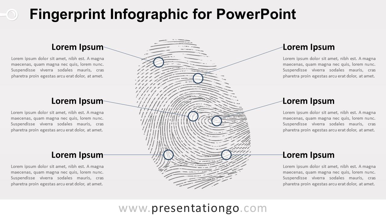 Free Fingerprint for PowerPoint