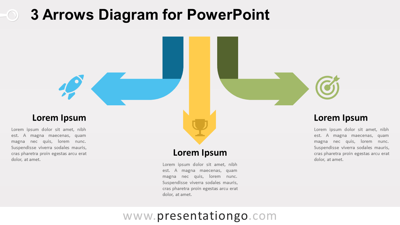 Free Arrows Diagram for PowerPoint
