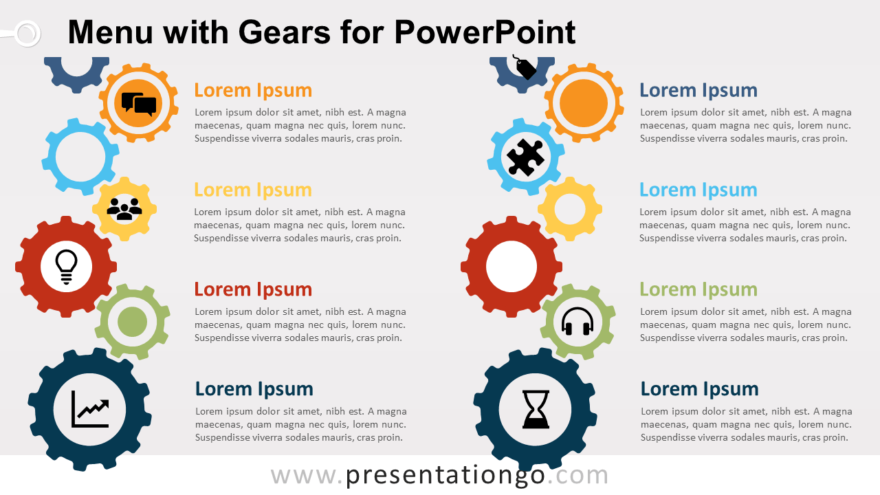 Free Content Gears PowerPoint