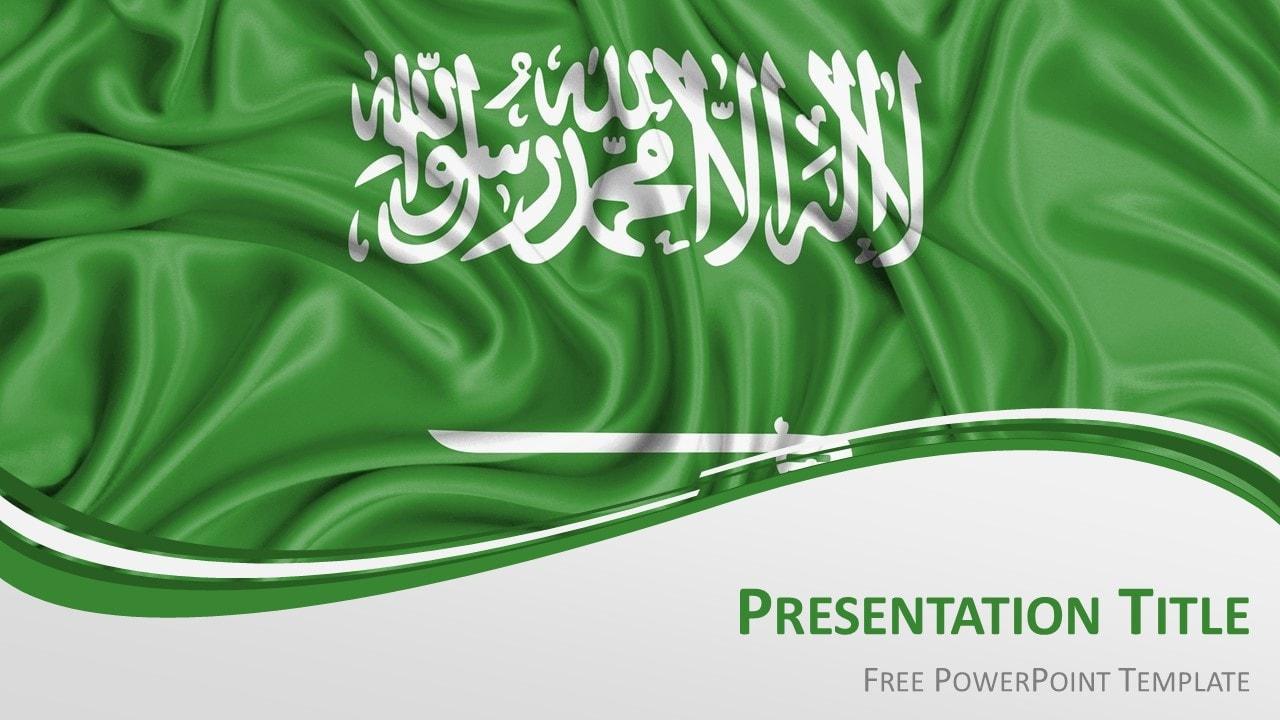 Free Saudi Arabia PowerPoint Template
