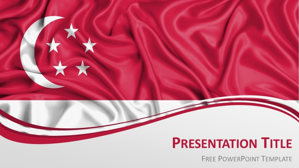 Free Singapore PowerPoint Template