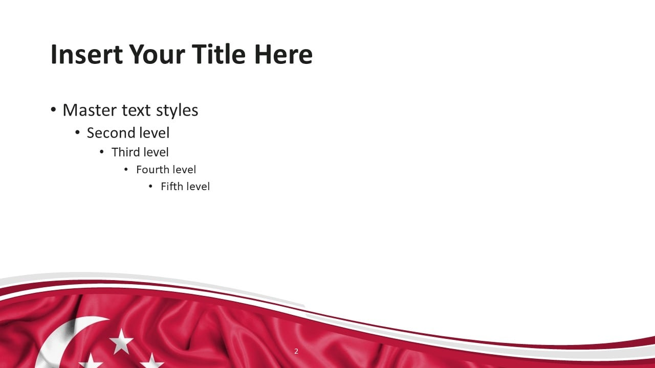 Free Singapore PowerPoint Template - Slide 2