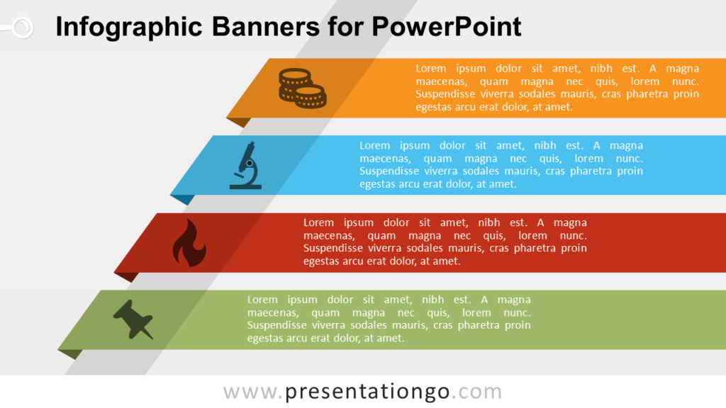 Free Banners with Text for PowerPoint