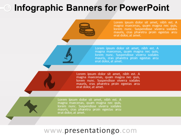 Free Infographic Banners for PowerPoint