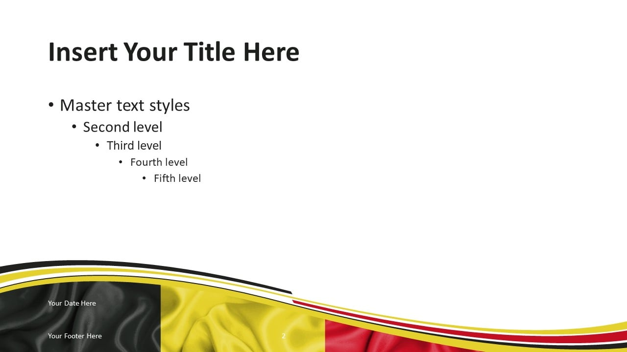 Free Belgium PowerPoint Template - Slide 2