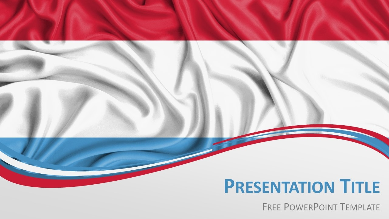 Free Luxembourg PowerPoint Template