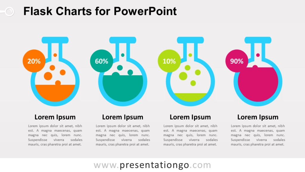 Free Flask Charts PowerPoint Graphs