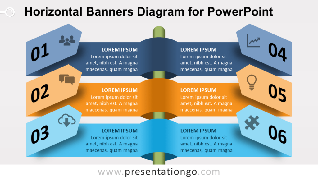 Free Horizontal Banners for PowerPoint