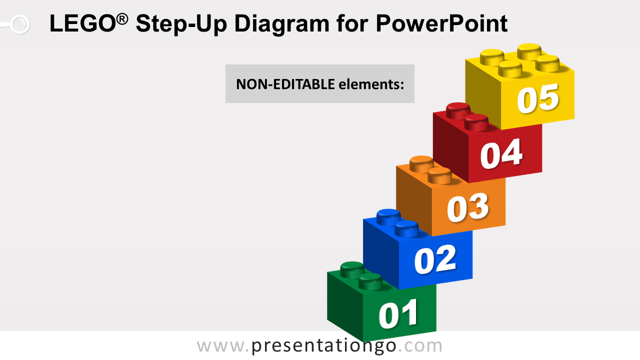 Lego Step-Up for PowerPoint - Not Editable Elements