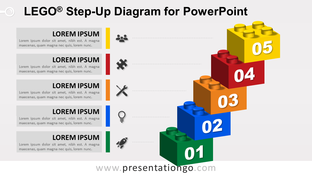 Lego Step-Up for PowerPoint