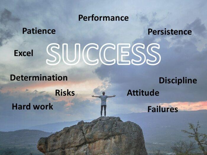 Free Motivation Success PowerPoint Slide