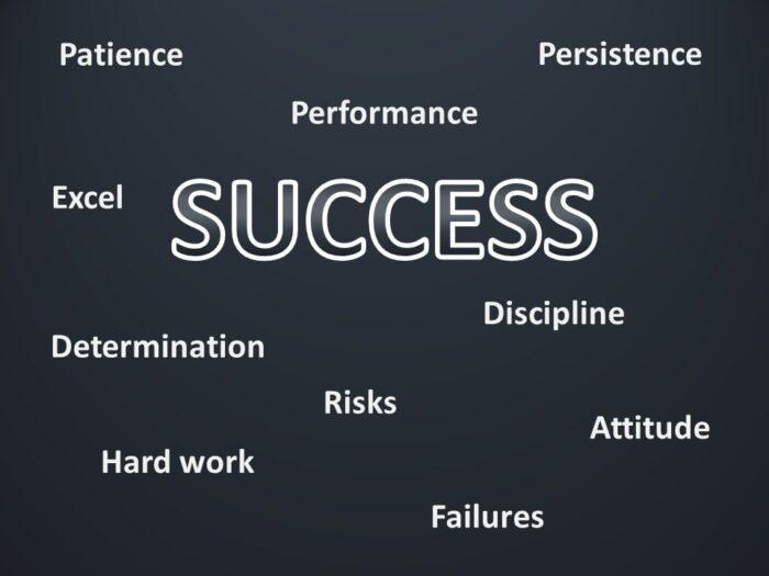 Motivation Success PowerPoint Slide - Blank
