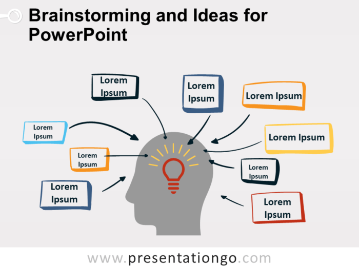Free Brainstorming and Ideas for PowerPoint