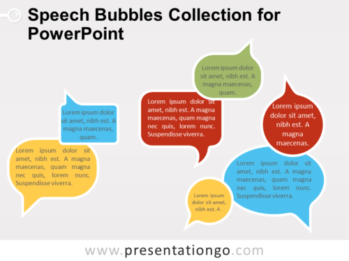 Free Speech Bubbles Collection for PowerPoint