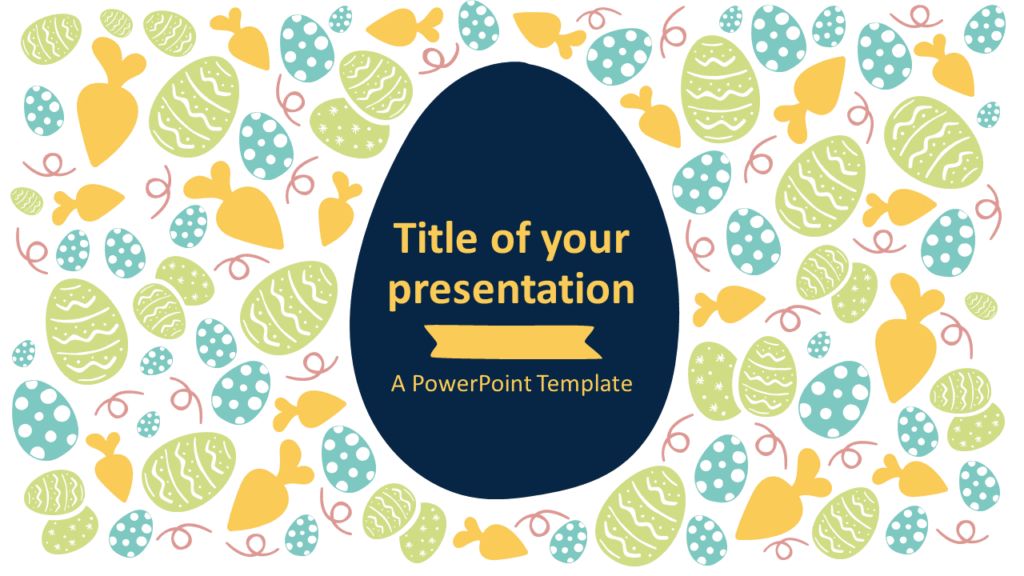 Free Easter PowerPoint Template - Style 1
