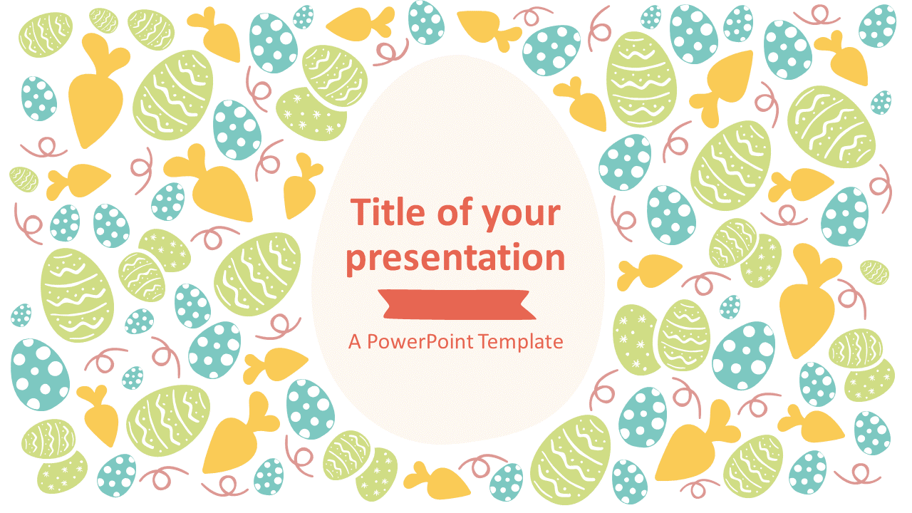 Free Easter PowerPoint Template - Style 2