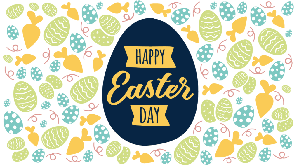 Free Happy Easter Day PowerPoint Template - Style 1