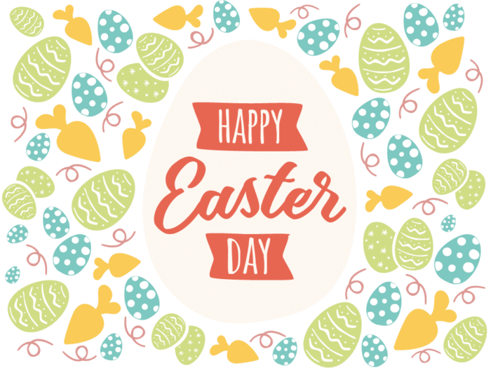 Free Happy Easter PowerPoint Template - Style 2