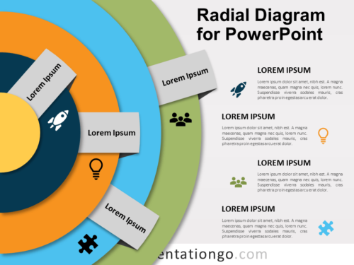 Free Radial Diagram for PowerPoint