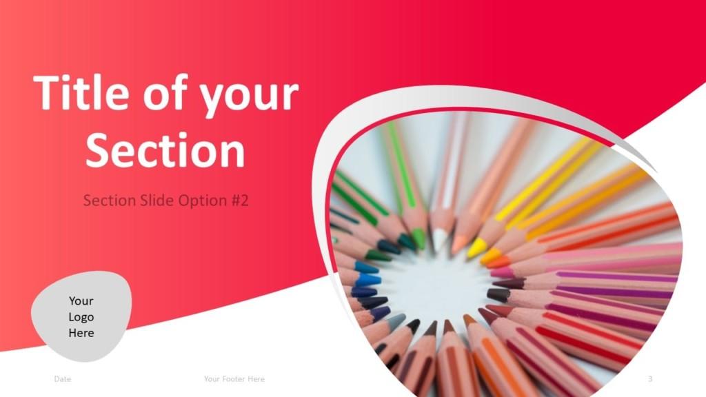 Free Teacher PowerPoint Template - Section 2